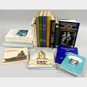 Eighteen Wedgwood Ceramics related Reference Books.