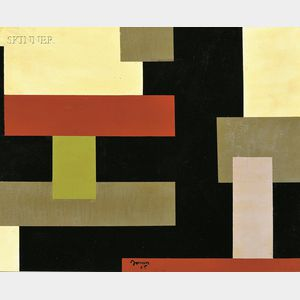 Raymond (Carl Raymond) Jonson (American, 1891-1982)      Composition