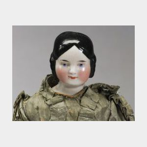 China Shoulder Head Lady Doll