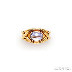 18kt Gold and Tanzanite Ring, Tiffany & Co.