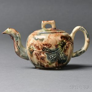 Staffordshire Small Size Teapot and Cover