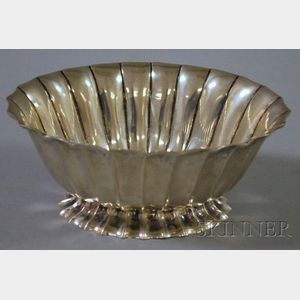 Italian Handwrought Silver Bowl
