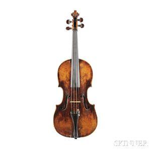 German Violin, Aegidius Kloz, Mittenwald an der Iser, 1772