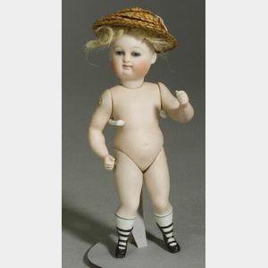 Kestner All-Bisque Swivel-Neck Doll