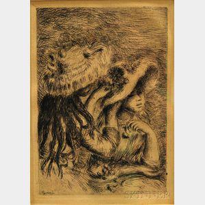 Pierre-Auguste Renoir (French, 1841-1919)      Chapeau Epingle