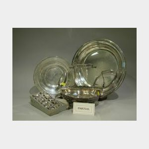 Group of Sterling and Silver Plated Table Items