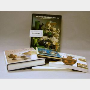 Thirteen Wedgwood Reference Books.