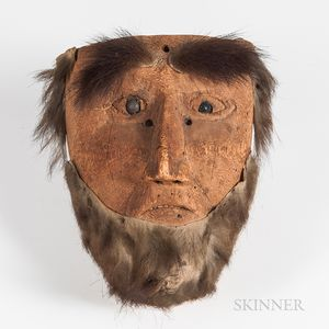 Guatemalan Wood Face Mask