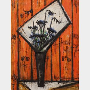 Bernard Buffet (French, 1928-1999)      Flowers