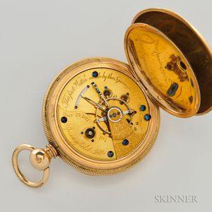 Illinois Springfield Watch Company No. 1 Open-face Watch