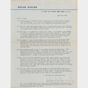 Keller, Helen (1880-1968)