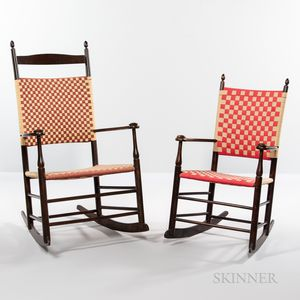 Two Shaker Production Rocking Chairs