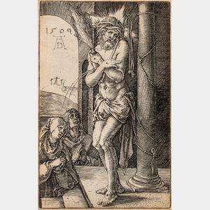 Albrecht Dürer (German, 1471-1528)      The Man of Sorrows by the Column