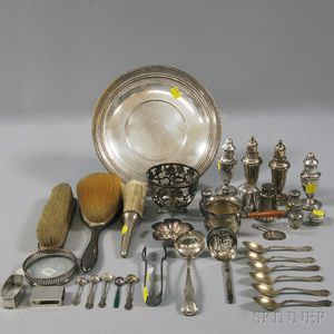 Miscellaneous Group of Mostly Sterling Silver Articles
