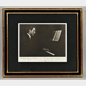 Gershwin, George (1898-1937) Signed and Inscribed Photograph.