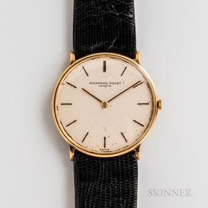 Audemars Piguet 18kt Gold Wristwatch