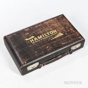 Hamilton Pocket Watch Salesman's Carrying Case