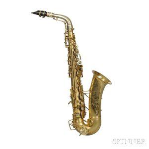Alto Saxophone, C.G. Conn 6M Transitional, 1931