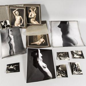 Twelve Photographs of Female Nudes