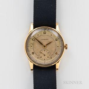 Longines 18kt Gold Wristwatch