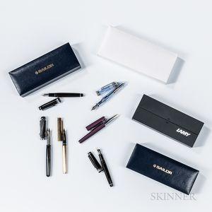 Five Fountain Pens