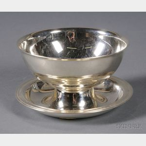 Christofle Silver Plated Sauce Bowl