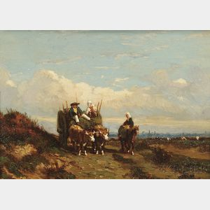 Louis Victor Le Gentile (French, 1815-1889)      Going to Market