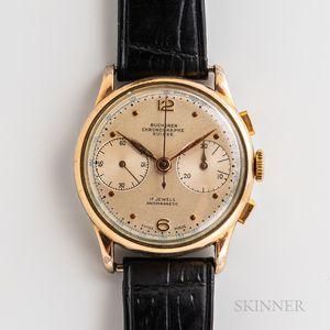 Bucherer Bi-compax Chronograph Wristwatch