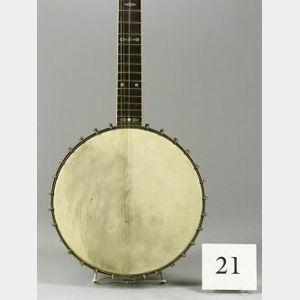 American Five-String Banjo,  A.C. Fairbanks Company, Boston, c. 1910,   Model Electric