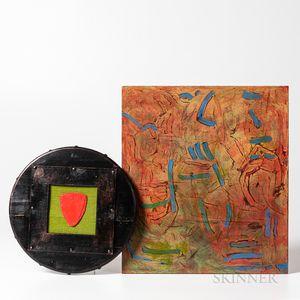 Valerie Margolis (American, 1953-2014), Two Works