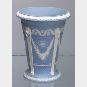 Wedgwood Solid Light Blue Jasper Vase
