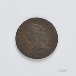 1773 Virginia Half Penny