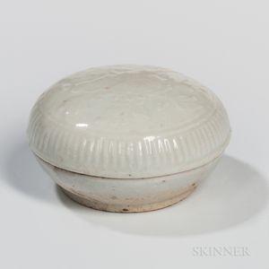 Qingbai-glazed Covered Box