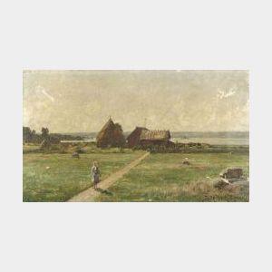 Didrik von Essen (Dutch, 1856-1922)  Going to Town