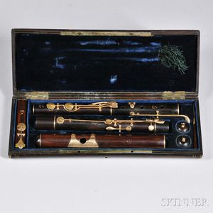 French Flute, Tulou, 19th Century