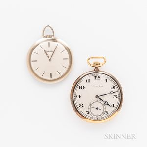 Two 18kt Gold Open-face Watches