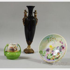 Three Decorative Ceramic Items