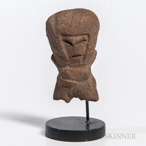 Valdivia Female Venus Figure Fragment