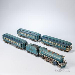 Lionel 'Blue Comet' Train Set