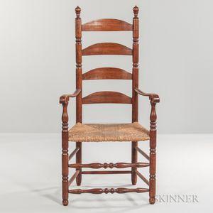 Tall Ladder-back Armchair