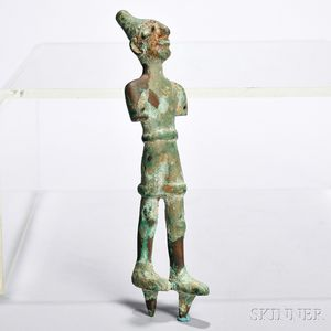 Canaanite Copper Figure of a Deity