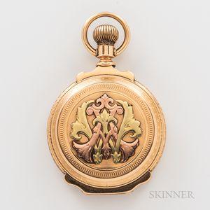E. Howard & Co. 14kt Gold Box-hinged Hunter-case Watch