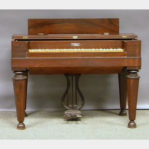 George A. Prince & Co. Empire Rosewood Veneer Pump Organ