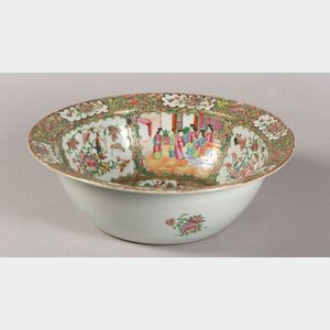 Rose Medallion Wash Bowl