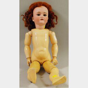 Heinrich Handwerck Halbig 4 Bisque Head Doll