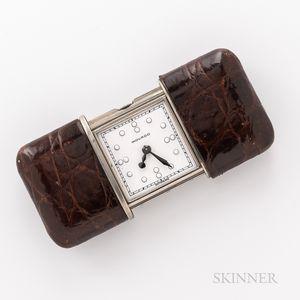 """Movado """"Ermeto"""" or Purse Clock"""