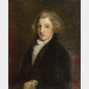British School, 18th/19th Century  Portrait of a Young Gentleman