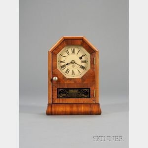 Rosewood Miniature Cottage Clock by Seth Thomas