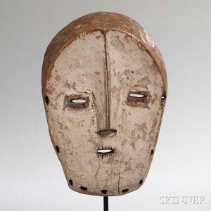 Lega Carved Wood Mask