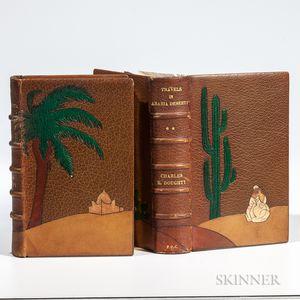 Doughty, Charles M. (1843-1926) Travels Arabia in Arabia Deserta.